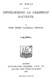 An Essay in Aid of a Grammar of Assent by John Henry Newman     Cardinal John Henry Newman Newman in his last years