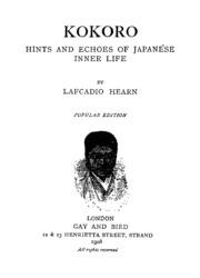 natsume soseki kokoro pdf download