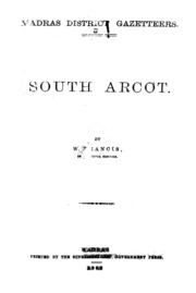 South Arcot District Gazetteers : Francis, W  : Free Download