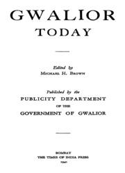 gazetteer of india vol 1 pdf