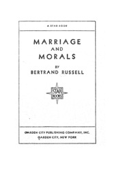 bertrand russell marriage and morals pdf free download