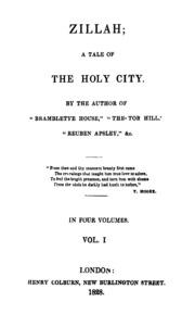Zillah Vol. 1