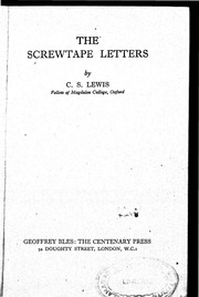 Original Preface To The Screwtape Letters Free Download