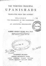 the thirteen principal upanishads pdf