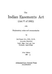 Easement Act 1882 Pdf