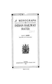 Free books download streaming ebooks and texts internet archive a monograph on indian railway rates fandeluxe Images
