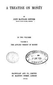 A treatise on money vol1 keynes john maynard free download a treatise on money vol2 fandeluxe Images