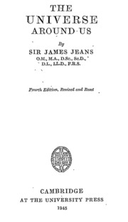 Sir James Jeans The Mysterious Universe Pdf To Jpg