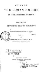 Coins of the roman empire in the british museum vol4 antoninus coins of the roman empire in the british museum vol4 antoninus pius to commodus mattingly harold free download borrow and streaming internet fandeluxe Gallery