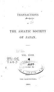 Transactions of the asiatic society of japan online dating