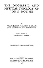 john donne essays divinity