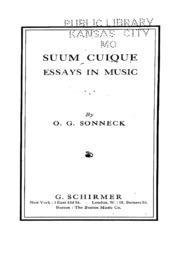 essays in persuasion keynes john nard  suum cuique essays in music