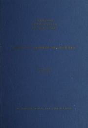 Index to Reports of Officers Vol. 2, 1951-1971