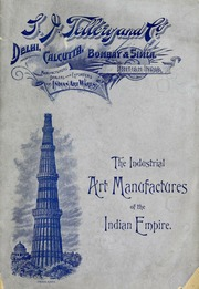 The industrial art manufactures of the Indian empire