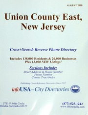 infoUSA City Directories Consumer and Business Guide For