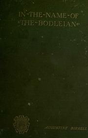 oxford bodleian thesis