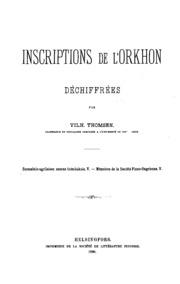 Inscriptions de l-Orkhon déchiffrées