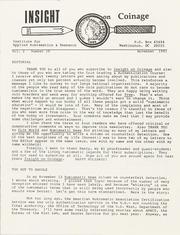 Insight on Coinage: Vol. 2 No. 10, November 1991