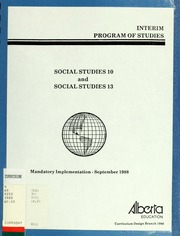 alberta program of studies social studies pdf