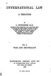oppenheim international law pdf download