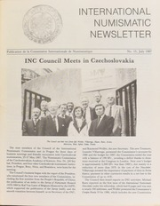 International Numismatic Newsletter 15 (July 1987)