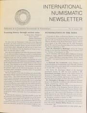 International Numismatic Newsletter 16 (January 1988)
