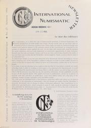 International Numismatic Newsletter 25 (Fall 1994)