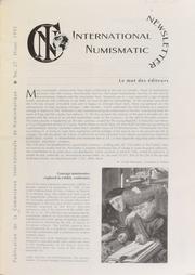 International Numismatic Newsletter 27 (Winter 1995)