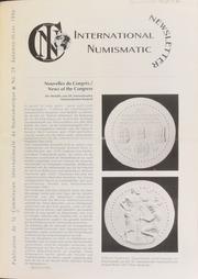 International Numismatic Newsletter 29 (Fall-Winter 1996)