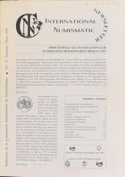 International Numismatic Newsletter 32 (Fall-Winter 1998)