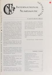 International Numismatic Newsletter 33 (Spring-Summer 1999)
