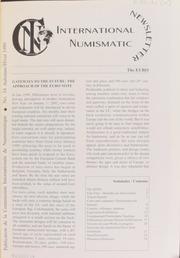 International Numismatic Newsletter 34 (Autumn-Winter 1999)