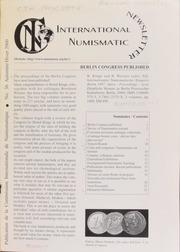 International Numismatic Newsletter 36 (Autumn-Winter 2000)