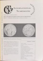 International Numismatic Newsletter 38 (Autumn-Winter 2001)