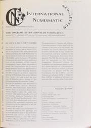 International Numismatic Newsletter 39 (Spring-Summer 2002)