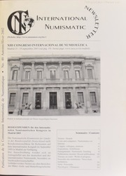 International Numismatic Newsletter 40 (Autumn-Winter 2002)