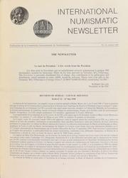 International Numismatic Newsletter 18 (January 1991)