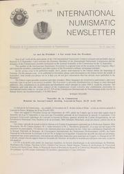 International Numismatic Newsletter 19 (August 1991)