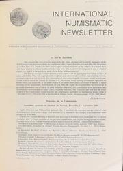 International Numismatic Newsletter 20 (December 1991)