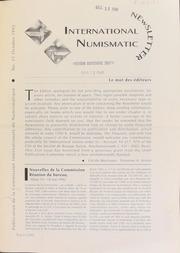 International Numismatic Newsletter 21 (October 1992)
