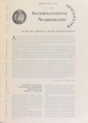 International Numismatic Newsletter 23 (Fall 1993)