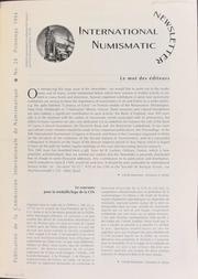 International Numismatic Newsletter 24 (Spring 1994)