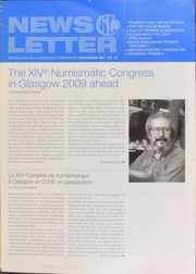 International Numismatic Newsletter 43 (September 2007)