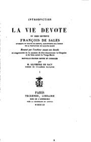 Introduction a la vie dévote: reveuë par l-autheur avant son deceds et ...