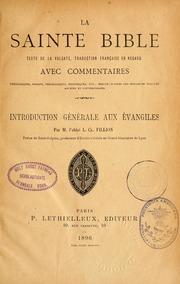 Introduction générale aux Évangiles