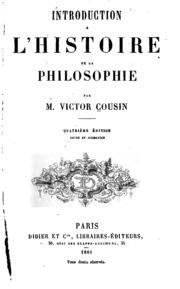 Introduction à l-histoire de la philosophie