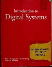 Introduction To Digital Systems Ercegovac Pdf
