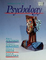 atkinson  hilgards introduction to psychology pdf free download