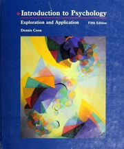 Introduction To Psychology Dennis Coon Pdf