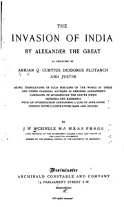 the life of alexander the great by plutarch Bryn mawr classical review 9748 hammond, ngl, sources for alexander the great: an analysis of plutarch's life and arrian's anabasis alexandrou.